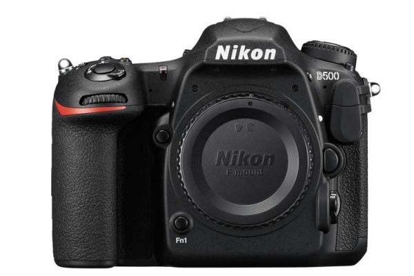 Large image of Nikon D500 DX Digital SLR Body - 1559