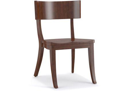 Hooker Furniture Cynthia Rowley Dining Room Scoop Wood Klismos Chair - 1586-75310-BRN1