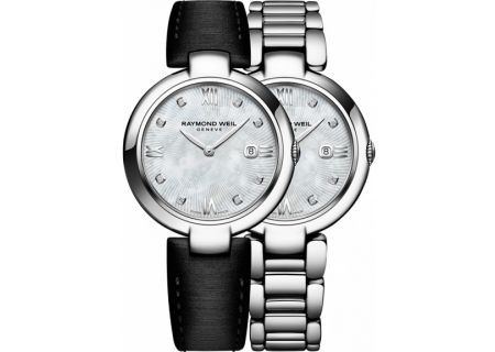 Raymond Weil Shine 32mm Stainless Steel Womens Watch  - 1600-ST-00995