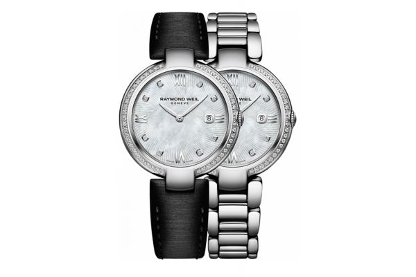 Raymond Weil Shine Stainless Steel Womens Watch - 1600STS00995