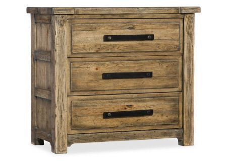 Hooker Furniture American Life Roslyn County Three-Drawer Nightstand - 1618-90116-MWD