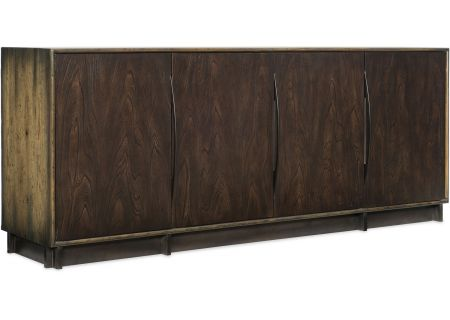 Hooker Furniture Home Entertainment Crafted Console - 1654-55480-DKW2