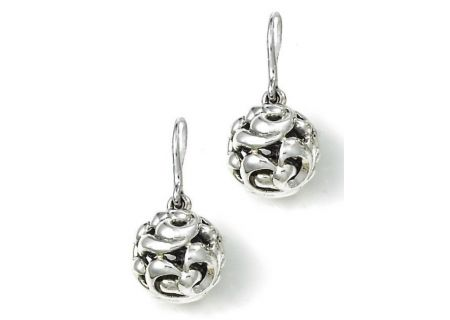 Charles Krypell Ivy Sterling Silver Earrings  - 1-6831-S