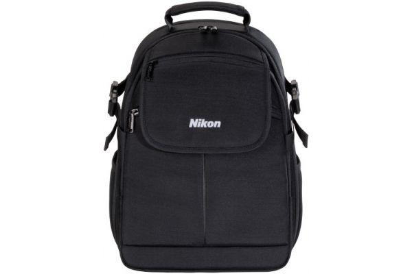 Large image of Nikon DSLR Black Compact Backpack Camera Bag - 17006N