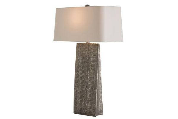 Large image of Arteriors Ravi Metallic Python Table Lamp - 17100-262
