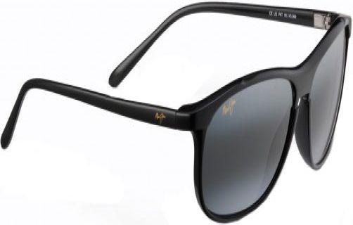 b5fb0d1bd4e9 Maui Jim Voyager Black Unisex Sunglasses - 178-02 - Abt