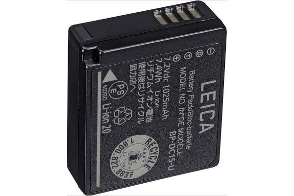 Large image of Leica BP-DC15 Li-Ion Battery For D-LUX (Typ 109) Digital Camera - 18545 & BP-DC15E-U