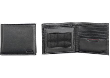 Tumi Center Flip ID Black Wallet - 18632 BLACK