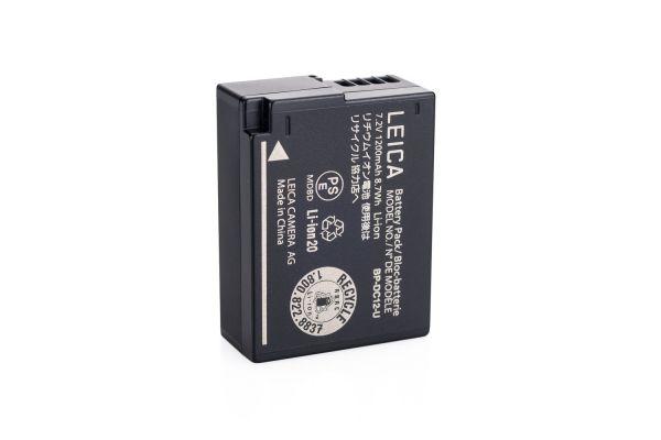 Large image of Leica BP-DC 12 Li-Ion Battery For Leica Q (Typ 116) Digital Camera - 19500 & BP-DC12
