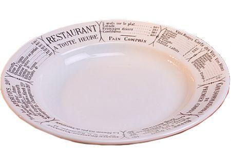 Pillivuyt Brasserie 8 Oz. Soup Plate - 200123BR