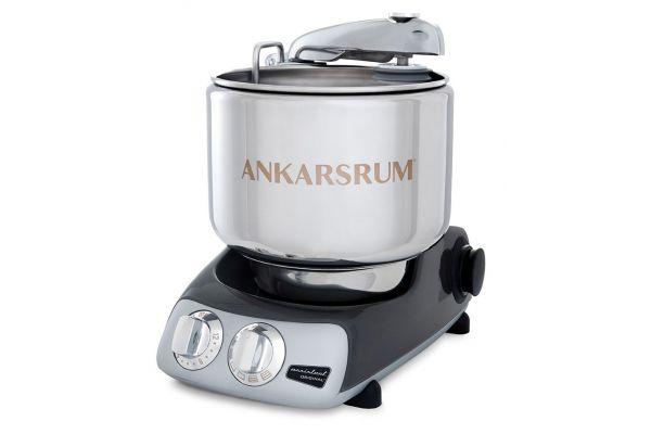 Large image of Ankarsrum AKM 6230 Black And Chrome Original Stand Mixer - 2008