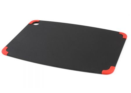 Epicurean Natural/Red Non-Slip 14.5x11.25 Cutting Board - 20215110201