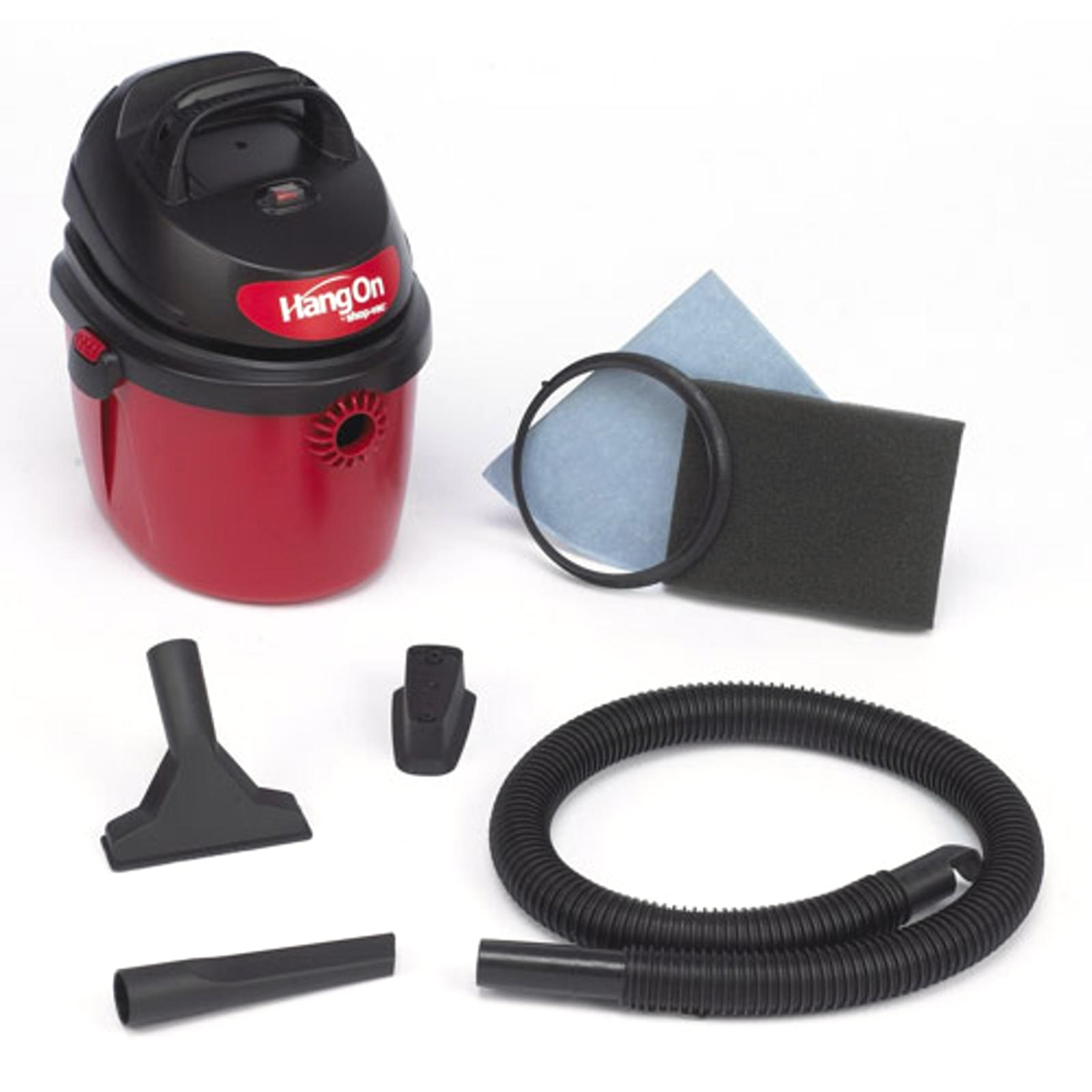 Shop Vac 2 5 Gallon Mini Hang On Wet Dry Vacuum 2036000