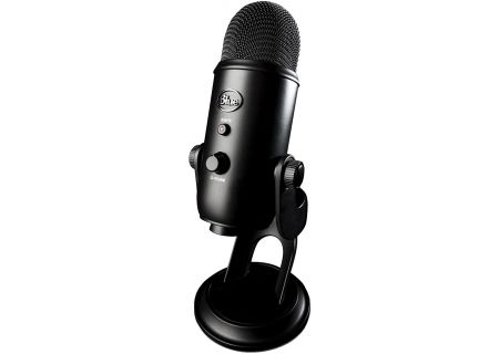 Blue Microphones Blackout Edition Yeti USB Microphone - 2070