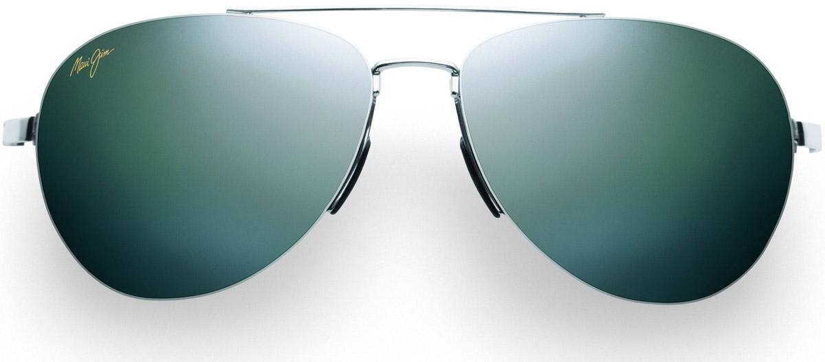 2d7348ff238 Maui Jim Pilot Steel Mens Sunglasses - 210-17 - Abt