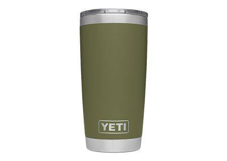 YETI Olive 20 Oz Rambler With MagSlider Lid  - 21070060019
