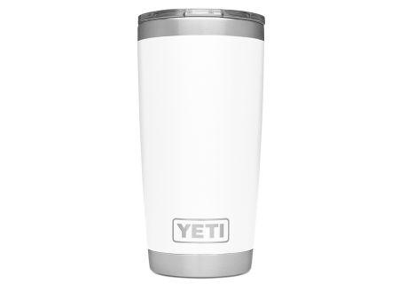YETI White 20 Oz Rambler With MagSlider Lid - 21070060025
