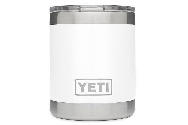 Large image of YETI Rambler 10 Oz Lowball In White - 21071010014