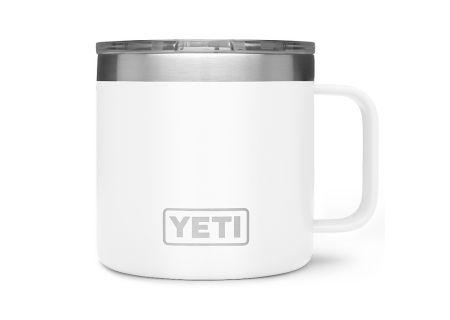 YETI White 14 Oz Rambler Mug - 21071300145