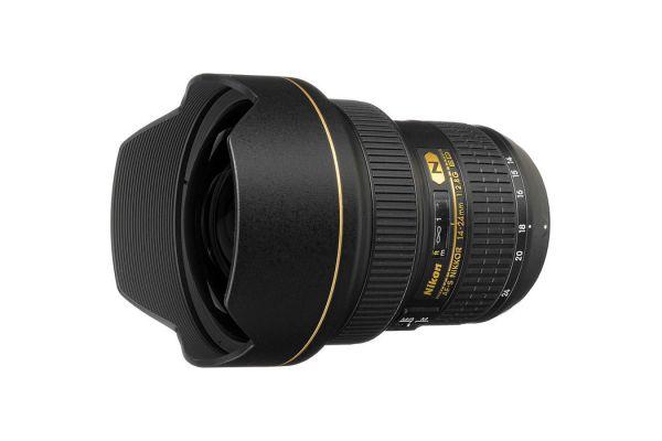 Large image of Nikon AF-S NIKKOR 14-24mm f/2.8G ED Camera Lens - 2163