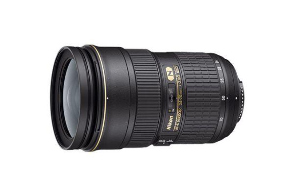 Large image of Nikon AF-S Fx NIKKOR 24-70mm f2.8G ED Camera Lens - 2164