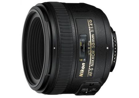 Nikon Black AF-S NIKKOR 50MM F/1.4G Lens - 2180