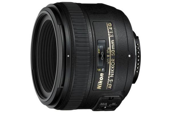 Large image of Nikon Black AF-S NIKKOR 50MM F/1.4G Lens - 2180