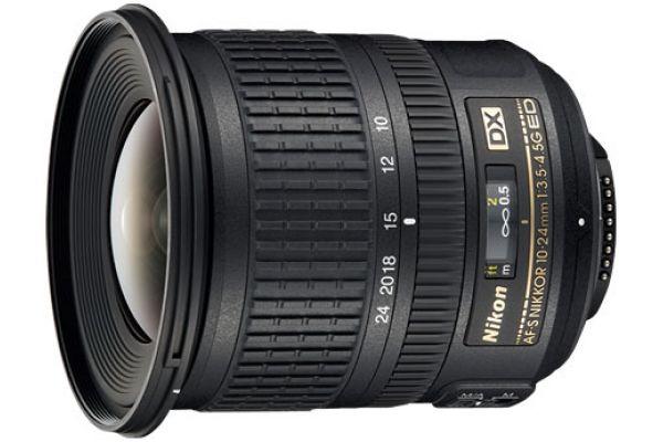 Nikon AF-S DX NIKKOR 10-24mm f/3.5-4.5G ED Camera Lens - 2181