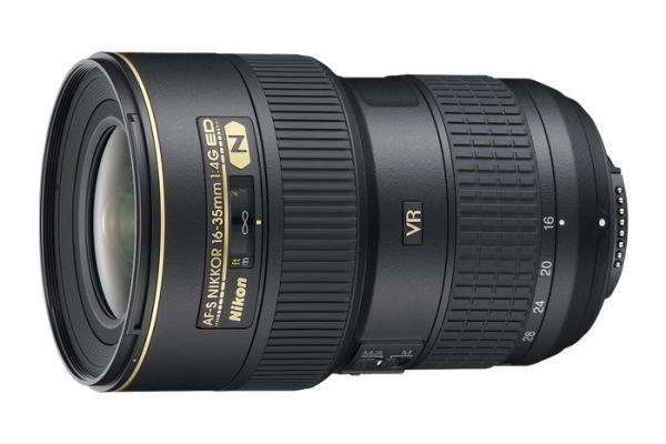 Large image of Nikon AF-S NIKKOR 16-35mm f/4G ED VR High Performance Camera Lens - 2182