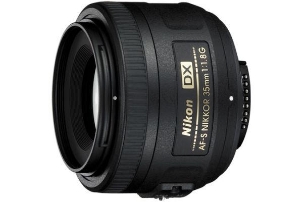 Large image of Nikon AF-S DX NIKKOR 35mm f1.8G Camera Lens - 2183
