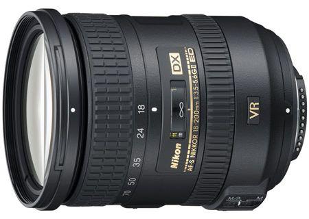 Nikon AF-S NIKKOR 18-200mm f/3.5-5.6G ED VR Lens - 2192