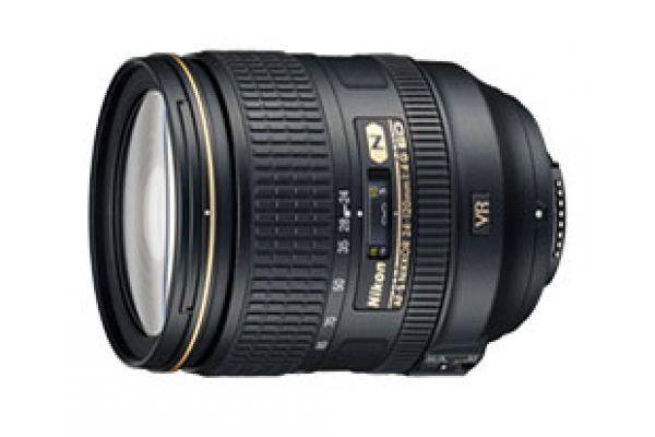 Large image of Nikon AF-S NIKKOR 24-120mm f/4G ED VR Zoom Camera Lens - 2193