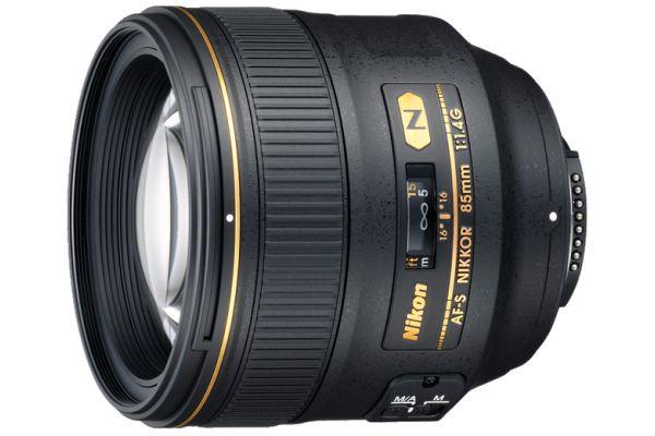 Large image of Nikon AF-S Nikkor 85mm f1.4G Camera Lens - 2195