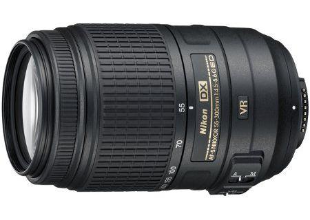 Nikon Black AF-S DX Nikkor 55-300MM VR Lens - 2197