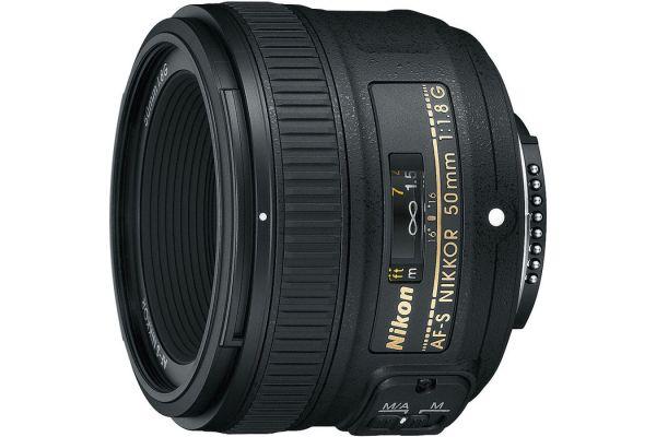 Large image of Nikon AF-S NIKKOR 50mm f1.8G Camera Lens - 2199