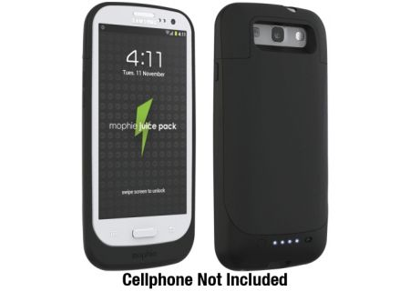 mophie - 2200-JP-GALAXYSIII-BLK - Cell Phone Cases