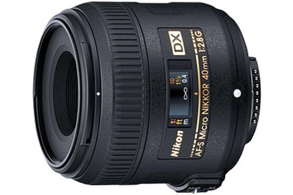 Nikon AF-S DX Micro-NIKKOR 40mm f/2.8G Camera Lens - 2200