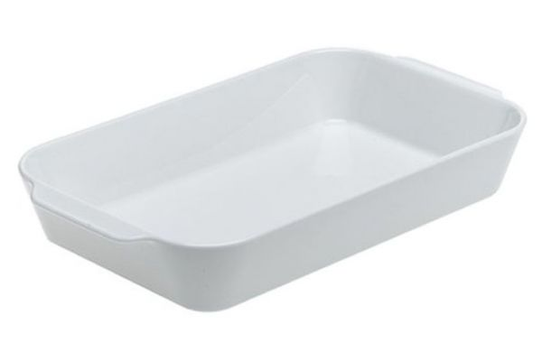 Pillivuyt Porcelain Large Deep Rectangular Roaster - 220238