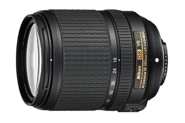 Large image of Nikon AF-S DX NIKKOR 18-140mm f/3.5-5.6G ED VR Camera Lens - 2213N