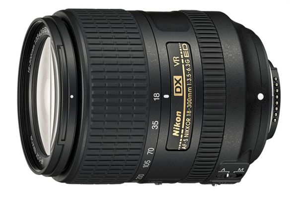 Nikon AF-S DX NIKKOR 18-300mm f/3.5-6.3G ED VR Camera Lens - 2216