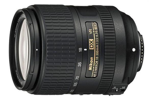 Large image of Nikon AF-S DX NIKKOR 18-300mm f/3.5-6.3G ED VR Camera Lens - 2216
