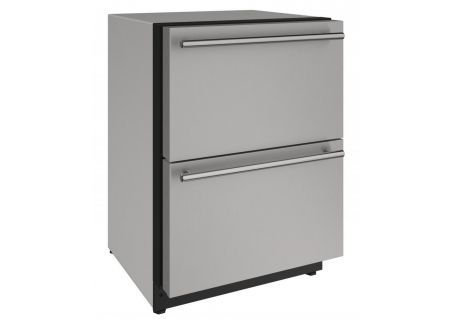 U-Line - U-2224DWRS-00A - Compact Refrigerators