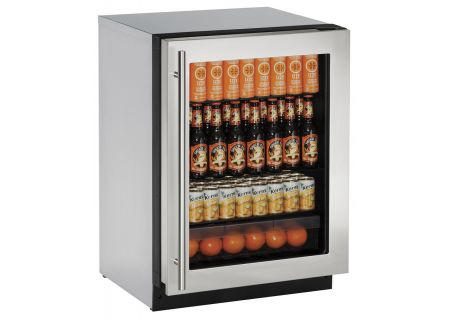 U-Line - 2224RGLS-00B - Wine Refrigerators and Beverage Centers