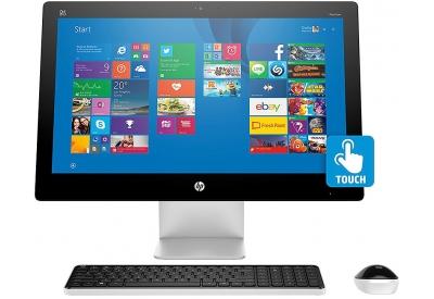 "HP Pavilion 23"" Black All-In-One Desktop Computer - L9K90AA#ABA"