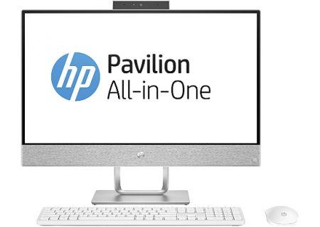 HP Pavilion Blizzard White All-In-One Desktop Computer - 24-X030