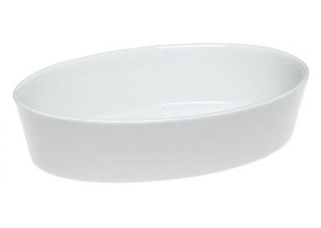 Pillivuyt Porcelain Medium Deep Oval Bakers - 240526