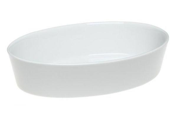 Large image of Pillivuyt Porcelain Large Deep Oval Bakers - 240531