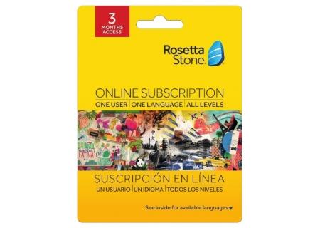 Rosetta Stone - 24221A - Software