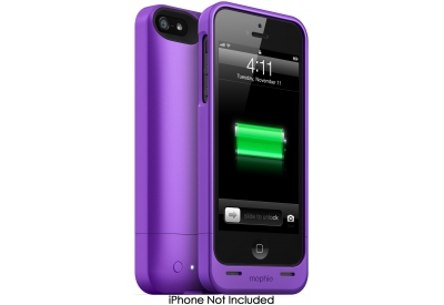 mophie - 2468_JPH-IP5-PRP - External Battery Pack Chargers