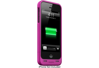 mophie - 2469_JPH-IP5-PNK - External Battery Pack Chargers